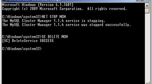 Como eliminar un servicio en Windows