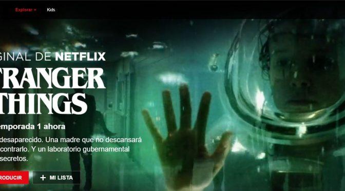 Stranger Things – La nueva serie de NetFlix