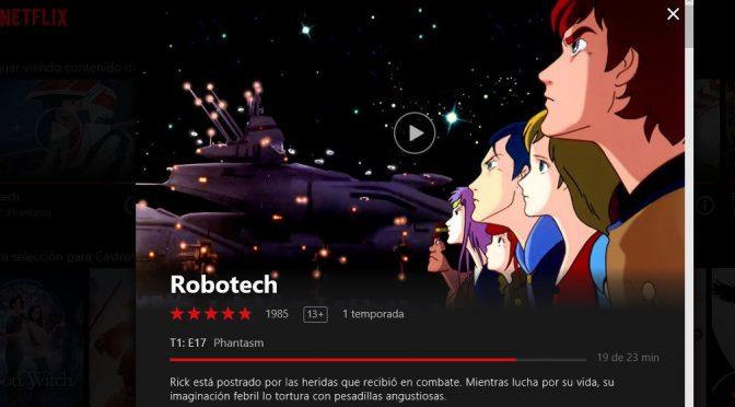 Robotech en Netflix