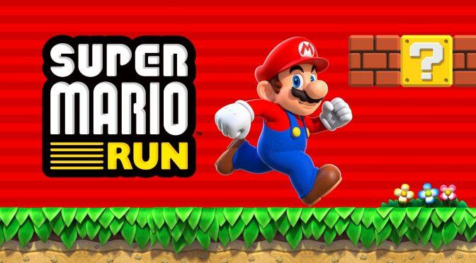 Ya jugamos SuperMario Run
