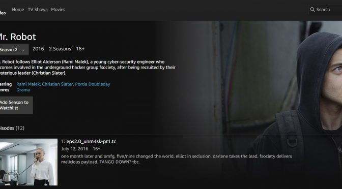 Amazon Prime Video: Primeras impresiones